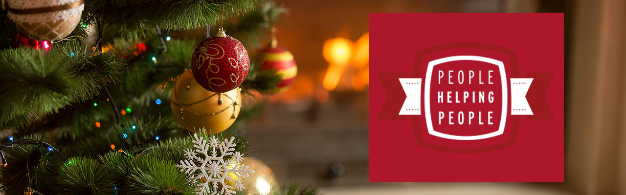 GivingTree decorated christmas tree
