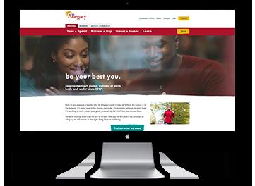 2017 Allegacy Homepage