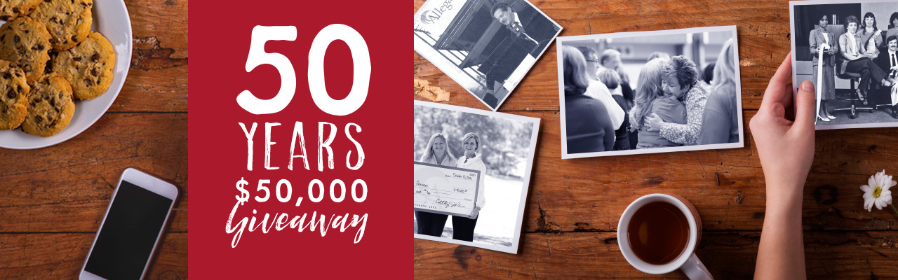 50 Years Giveaway