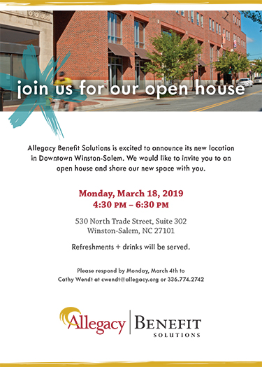Monday, March 18, 2019 from 4:30-6:30pm