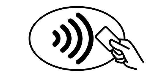 Pay wave symbol