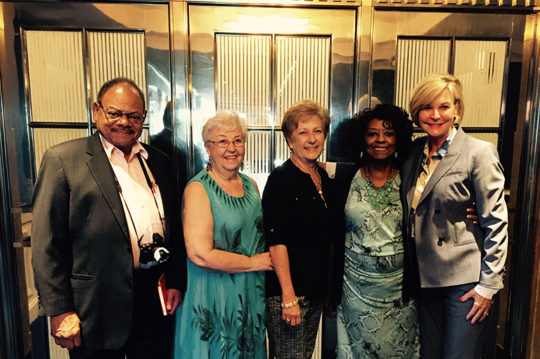 John Williams, Jean Hill, LaNeta Jones, Julia Martin and Cathy Pace